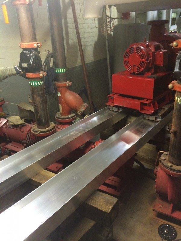 Skating A Generator In A Mechanical Room In Farmingdale