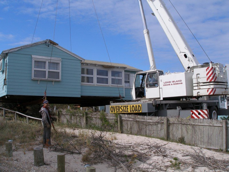 100 Ton Grove Moving A House In Quogue