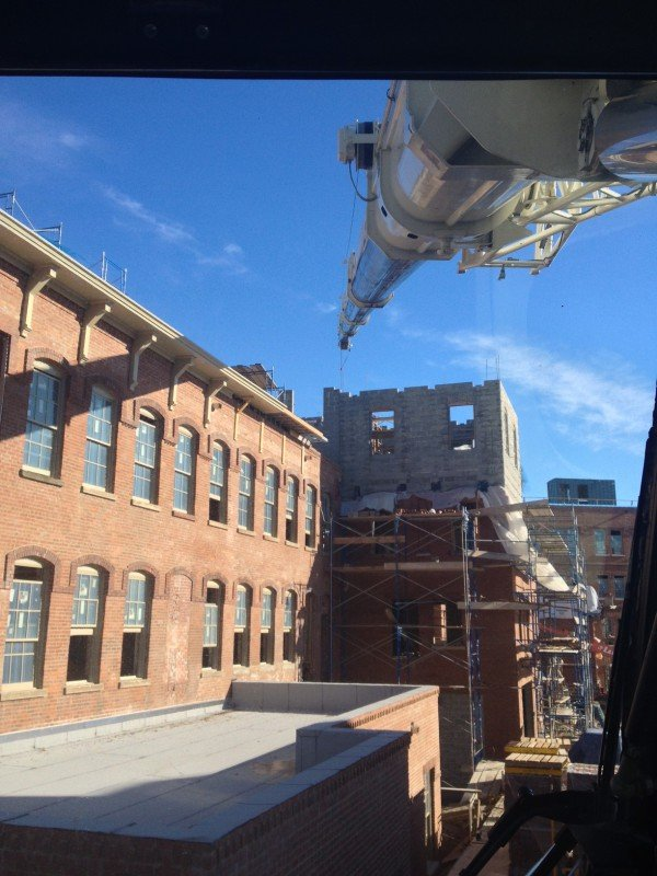 120 Ton Demag Setting Steel At Watchcase Condominiums In Sag Harbor