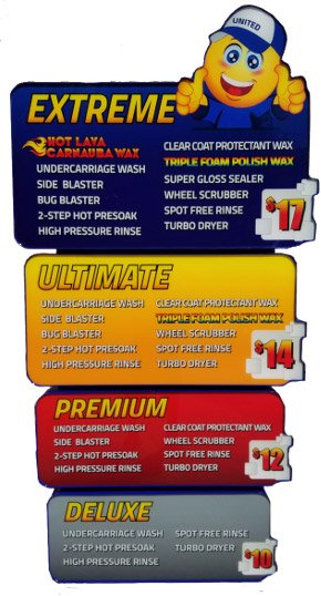 Our Car Washing Packages Tigard Or United Car Wash