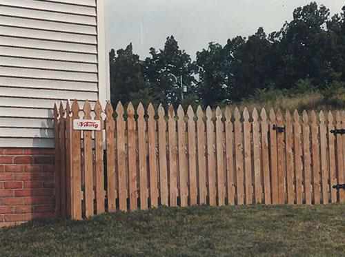 Wood Fencing Vinton VA Viking Fence Co Inc