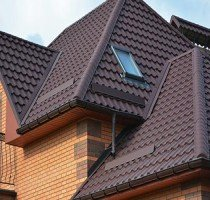 House Brown Roof — Windows in Oconomowoc, WI