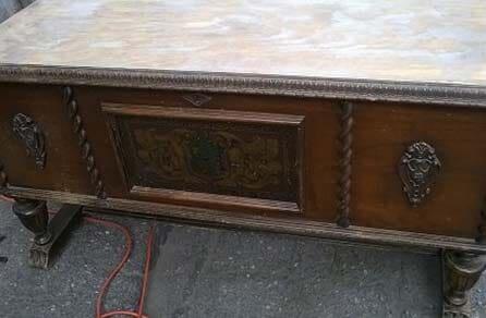 Strip And Refinish Before   Furniture Refinishing U0026 Repair In Orem, ...