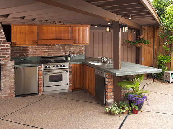 Modern Outdoor Kitchen   Outdoor Kitchen Improvements In Eastern Shore, AL