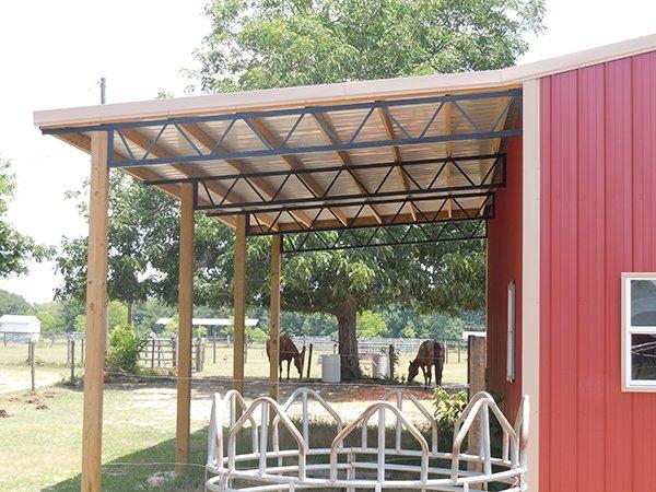 Standalone Structures Westover Al Davis Metal Roofing