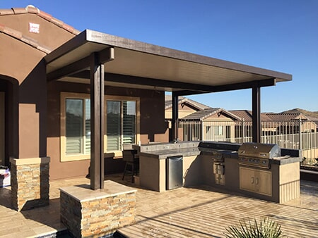 fan harold columns architects leidner patio cover roof pergola freestanding landscape landscaping network pergolas and ideas