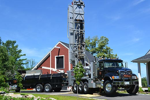 Drill Truck - Well Drilling Services in Moultonborough, NH