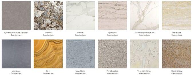 Countertop Selection   Granite In Naples, FL