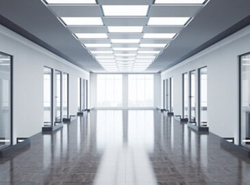 Office Hallway With Good Lighting Electricians In New Berlin WI
