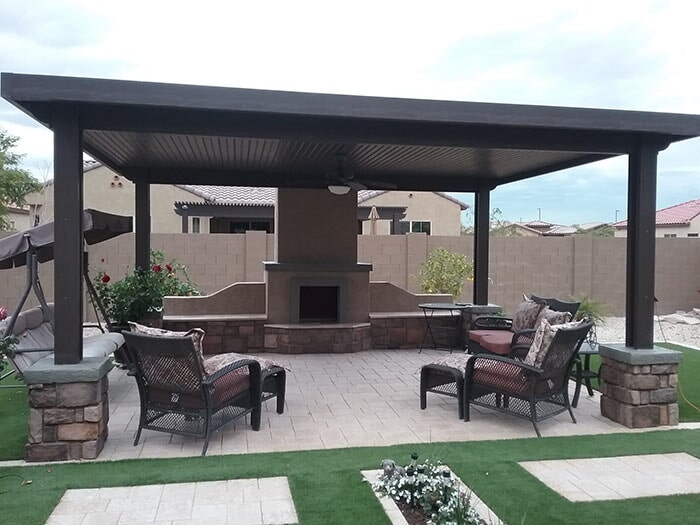 Chose from our wide selection of adjustable covers, lattice, pergolas, patio  and carport covers. For more information or to request a free quote, ... - Home - Glendale, AZ - AZ Patio Cover