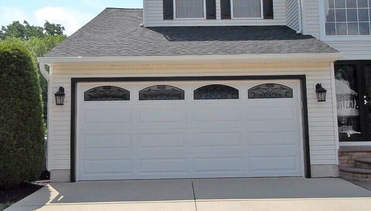 White Door U2014 Garage Doors In Florence, NJ