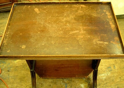 Table With Scratches — Antique Furniture in Albuquerque, NM - Antiques Albuquerque, NM Antiques & Things