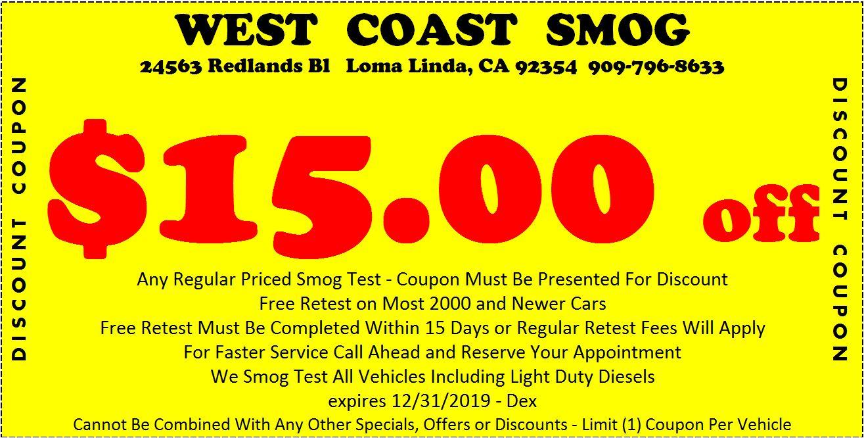 Smogcheck Ca Gov >> Smog Testing in San Bernardino, CA | West Coast Smog