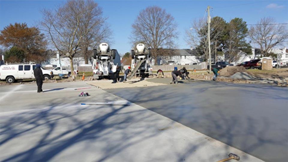 Concrete Contractor Virginia Beach Va Rick S Concrete Inc