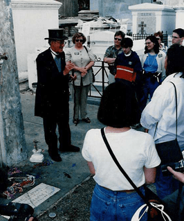 New Orleans Cemetery History Tour — Tour In Cemetery in New Orleans, LA