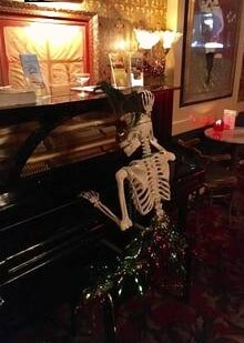 New Orleans Voodoo History Tour — Skeleton In Old Piano in New Orleans, LA