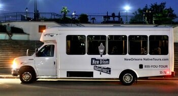 Dead Of Night Ghost — Ghost Tour White Bus in New Orleans, LA