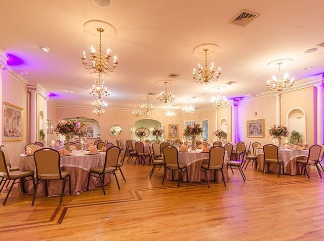 Banquet Hall Philadelphia Pennsylvania Mediterranean