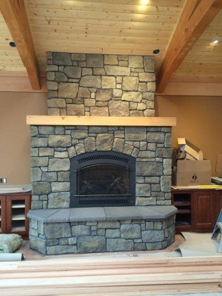 Fire Place Old Style - New Home Construction in Kitsap County, WA