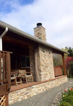 Chimney Outside - New Home Construction in Kitsap County, WA
