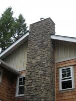 Outside Style of Chimney - New Home Construction in Kitsap County, WA