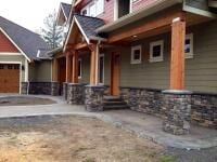 Simple Wood House - New Home Construction in Kitsap County, WA