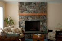 Chimney On Living Room - New Home Construction in Kitsap County, WA