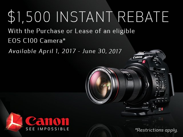 Canon EOS C200 Demo Day - CALL TODAY (951) 977-8811