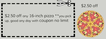 Tu pizza coupons