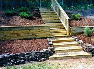 Durable Steps Walls Durham Nc Designer Landscapes Inc