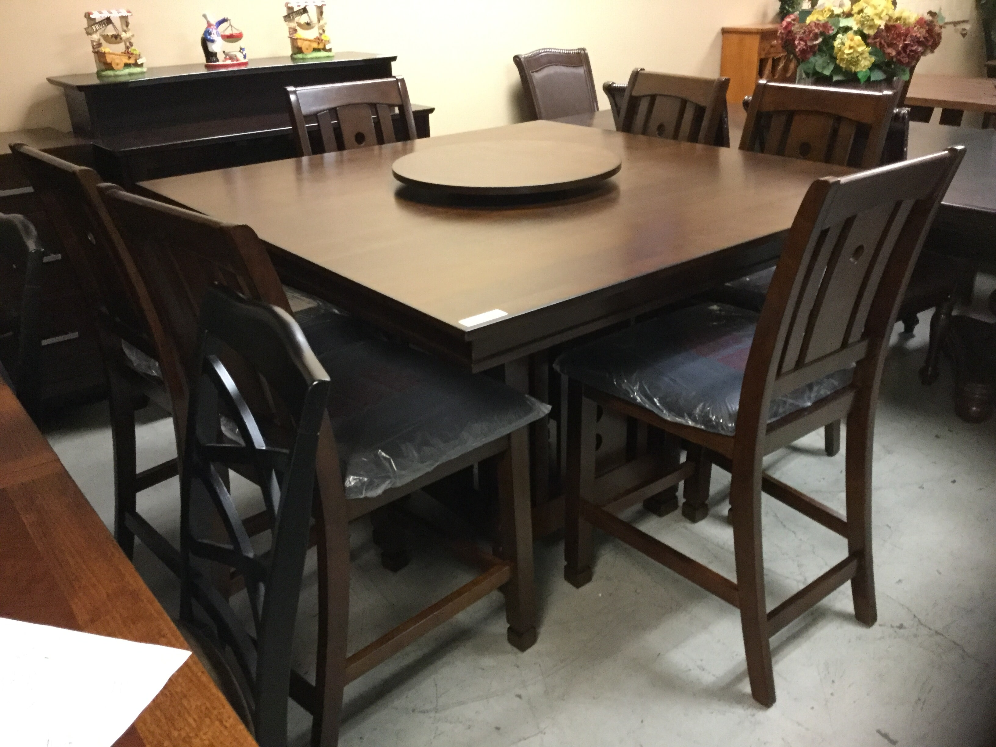 Dining Table With Lazy Susan U2014 Tables For Sale In Sacramento, CA