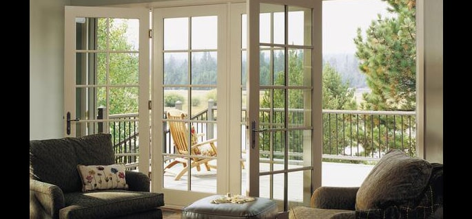 Simple House Balcony   Door And Frame In Sacramento, CA