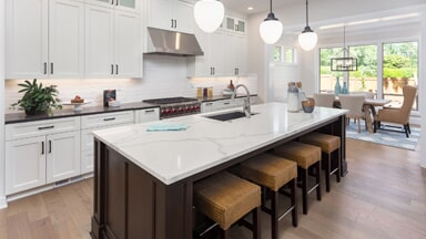 Marvelous Cabinetry U2014 Custom Counter Top With Chairs In Holland, MI