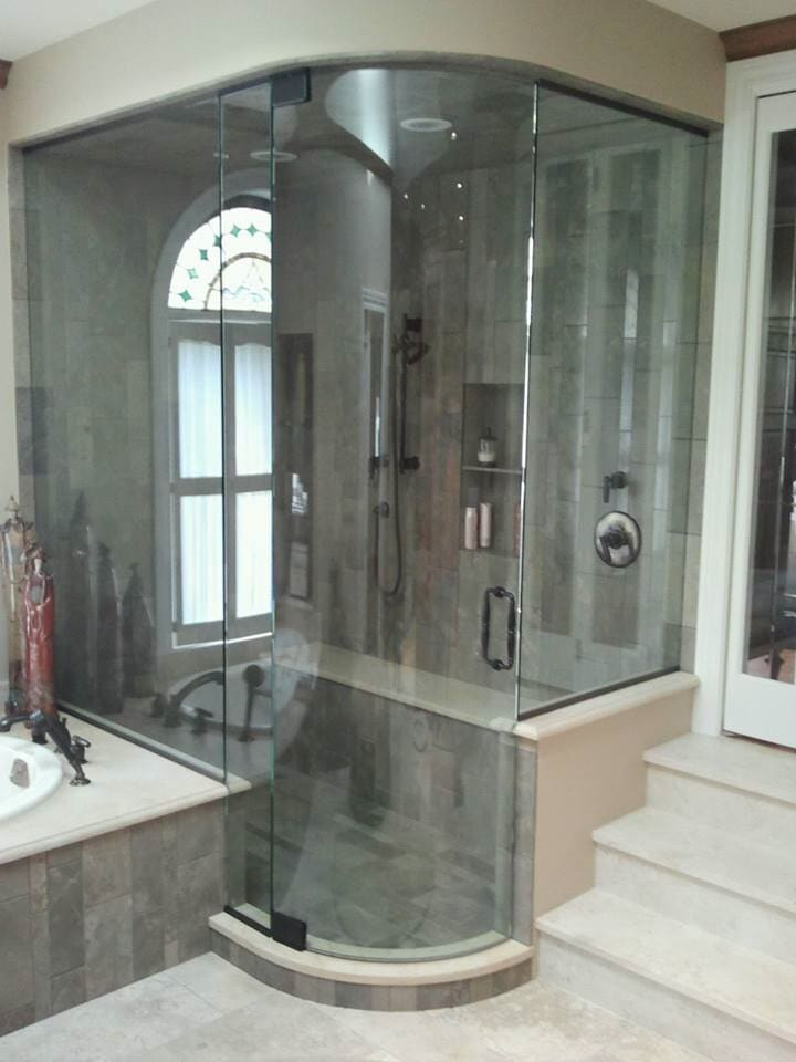 Custom Glass Shower Doors Geneva Il Geneva Glass Works