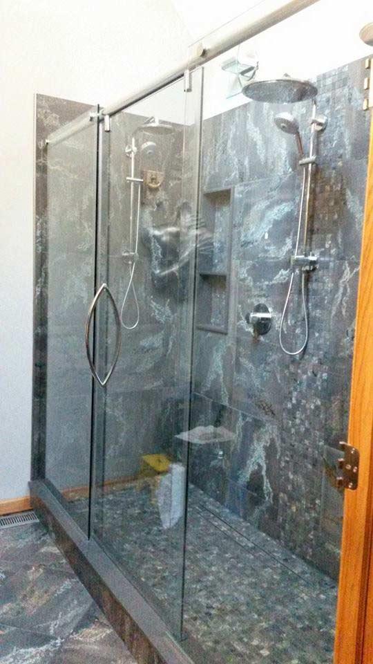 Shower Door - Glass Shower Doors in Geneva Illinois & Custom Glass Shower Doors - Geneva IL - Geneva Glass Works
