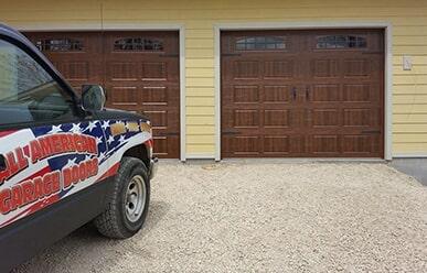 Bon Job Site 4 All American Garage Door U2014 Installation In Wartburg, TN