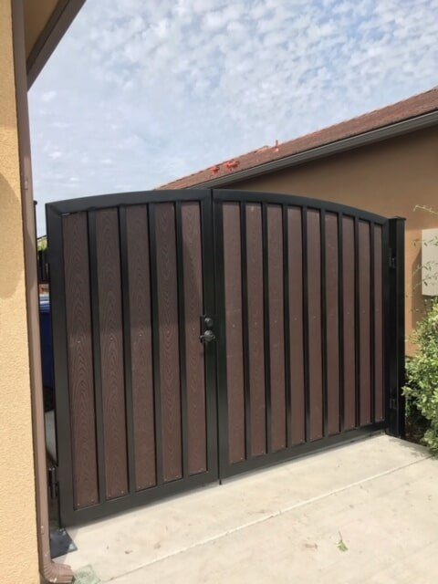 Wrought Iron Fence Fresno Gates California Commercial Fence