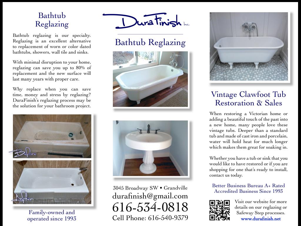 Durafinish Inc Bathtub Reglazing Amp Refinishing Durafinish