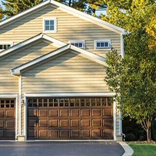 High Quality Brown Painted Garage Door   Door Installation Company In Albany, NY