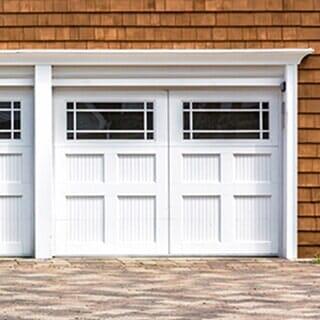 Delightful White Painted Wooden Door   Door Installation Company In Albany, NY