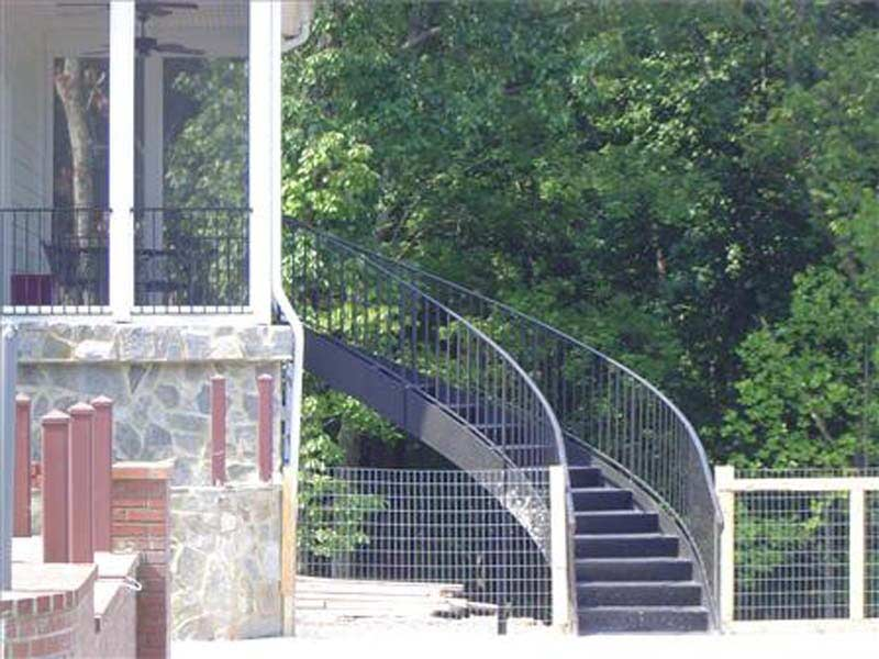 iron staircases - winston-salem  nc