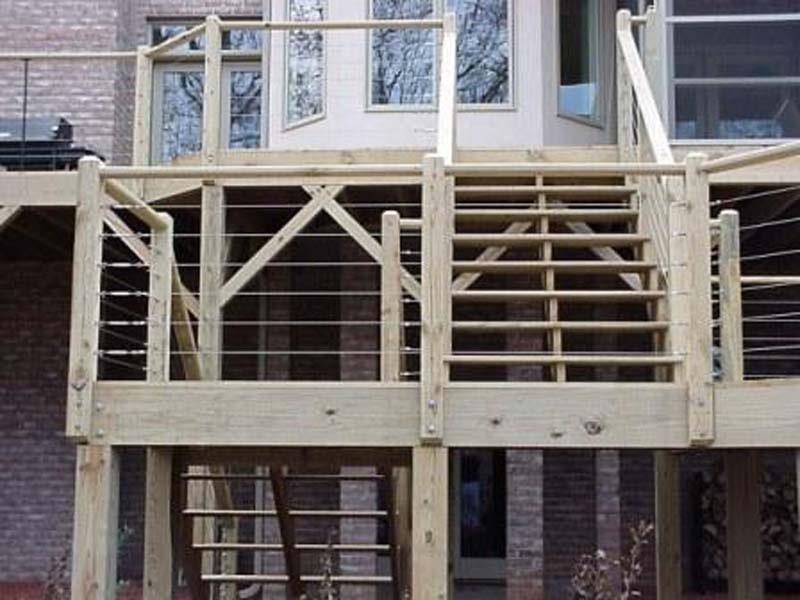 exterior iron railing - winston-salem  nc