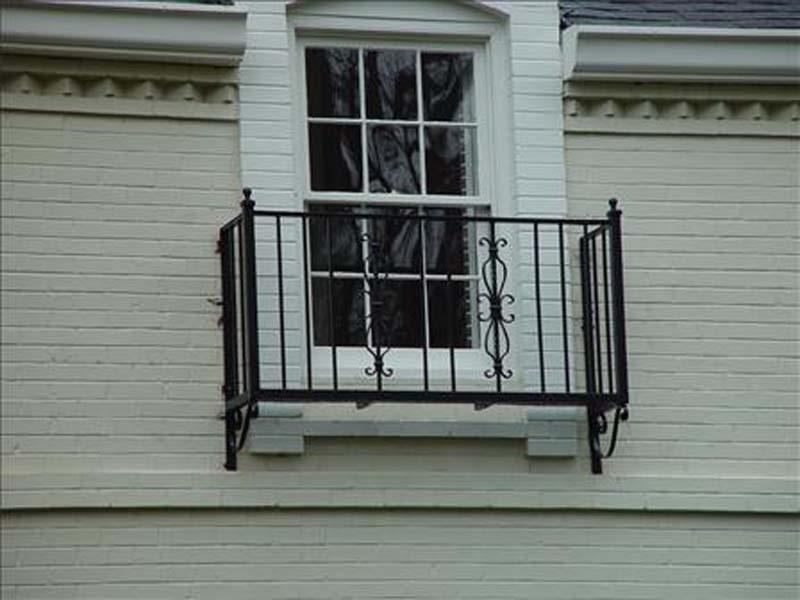 iron balcony - winston-salem  nc