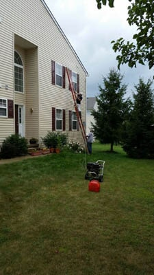 Side View of the House — Exterior Painting in Plainsboro, NJ