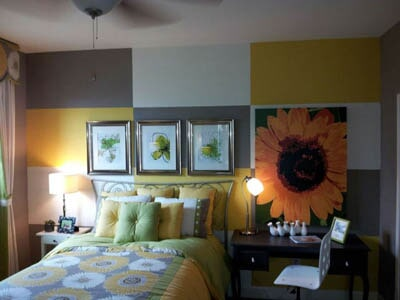 Bedroom with Beautiful Paint — Interior Painting in Plainsboro, NJ