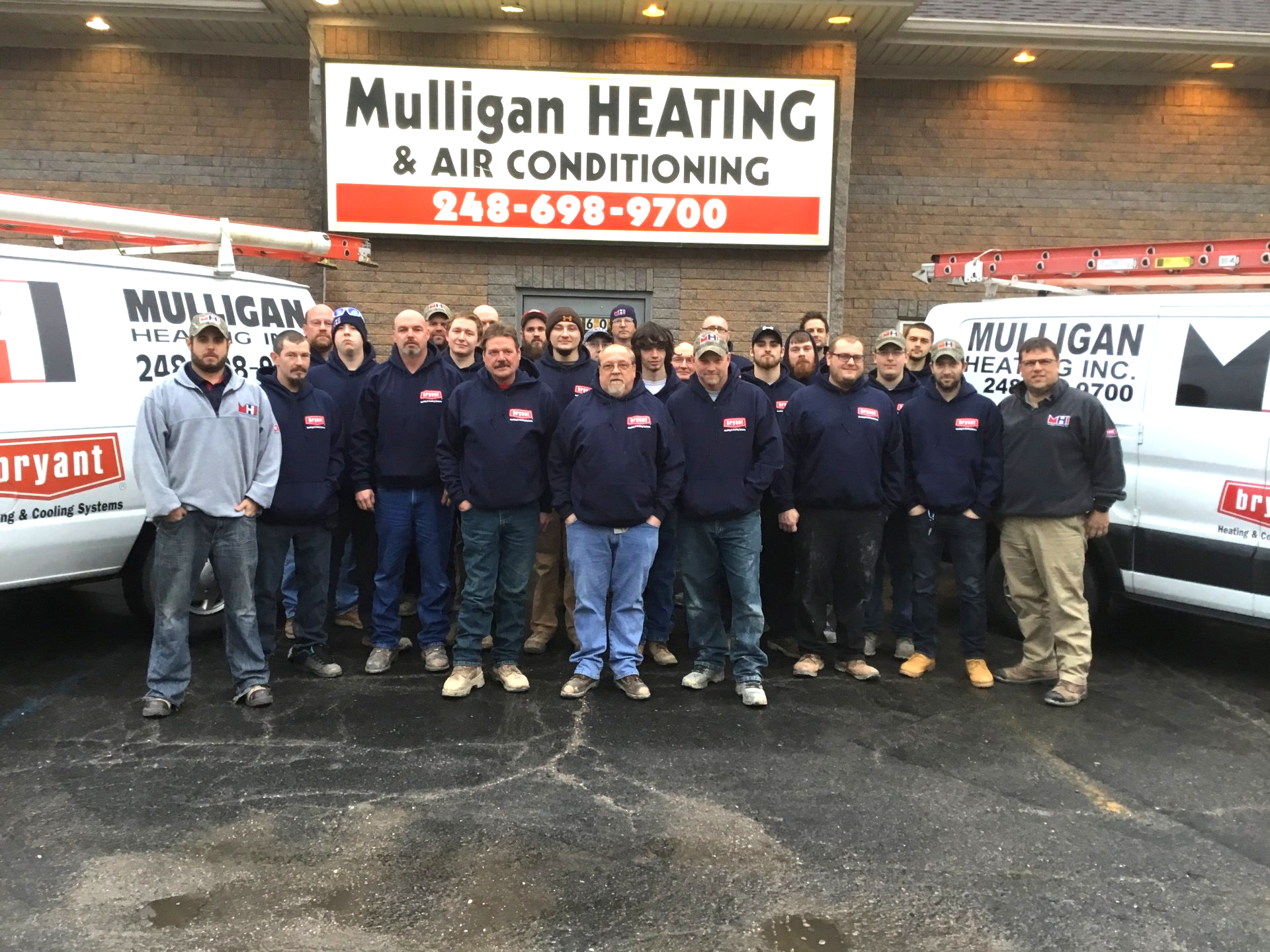 Our Story White Lake Mi Mulligan Heating