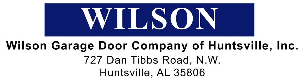Al Showroom Huntsville Al Wilson Garage Door Company Of