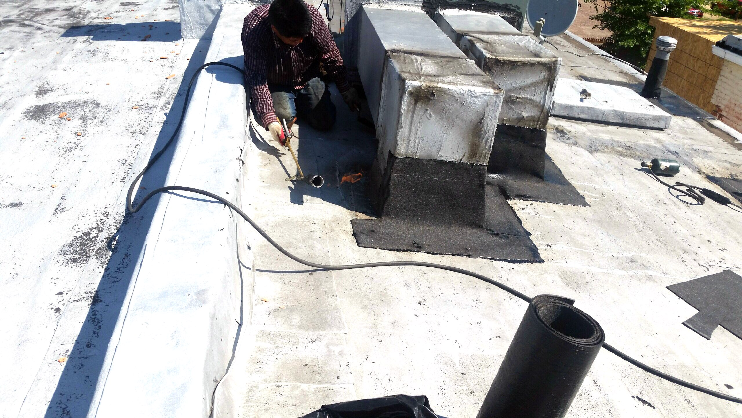 Flat Roof Repair Md Keith Roofing