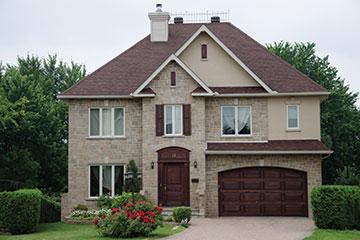 Home With One Door Garage   Garage Door Installation In Peoria, IL
