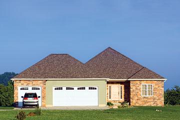 Superieur Home With Two Door Garage   Garage Door Installation In Peoria, IL